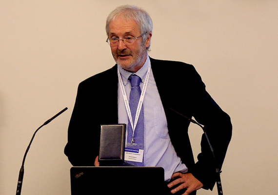Prof. David Rollinson at the Linnean Society in London
